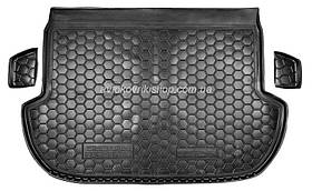 Резиновый коврик багажника Subaru Forester 2013- Avto-Gumm