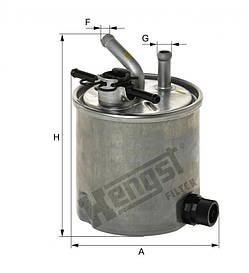 Паливний фільтр Hengst H322WK