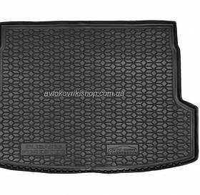 Резиновый коврик багажника Subaru Forester 2019- (с сабвуфером) Avto-Gumm