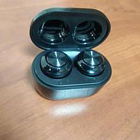 Беспроводные наушники Air Twins A6 TWS BT5.0 Bluetooth с боксом для зарядки Черный