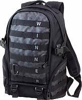 Рюкзак для мальчика Winner Stile камуфляжный с ремнями и карабином школьный ортопедический два отделения