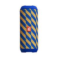 Колонка JBL Flip 4 Цвет Сине-Жёлтый