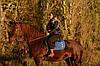 Прогулка на лошадях ОСЕНЬЮ