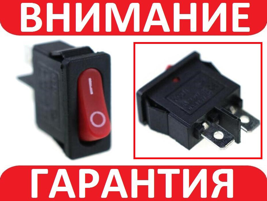 Кнопка, переключатель AC KCD-110 250В 6А