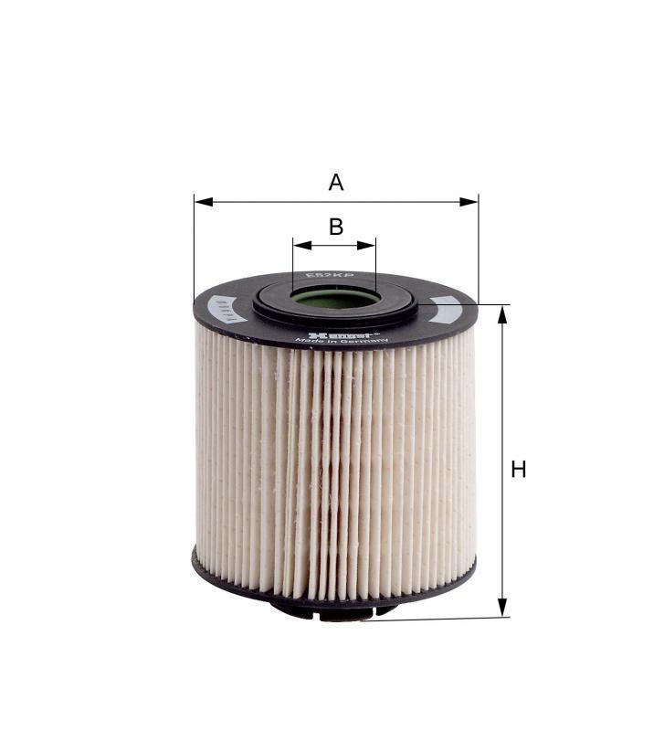 Вкладиш паливного фільтра Hengst E52KP D36
