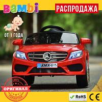 Детский Электромобиль Mercedes - Benz M3981 мягкие EVA колеса Красный