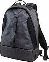 Городской камуфляжный рюкзак с ортопедом и фирменной застежкой Winner и USB портом