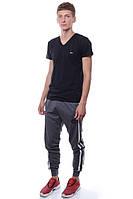 Спортивные штаны Мужской 80% хлопок 20% полиэстер серый Cita все размеры  L