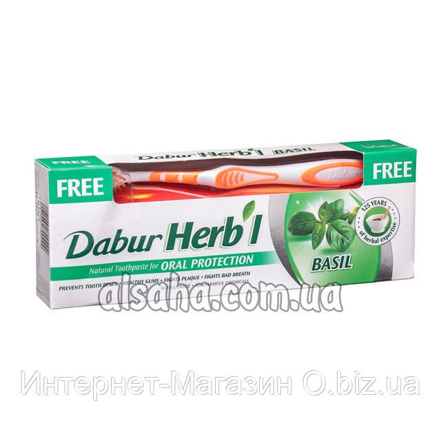 Зубная паста Dabur Herb'l с Базиликом