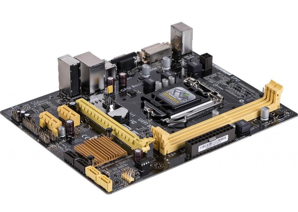 "Материнская плата Asus H81M-K Socket 1150 DDR3 OEM ""Over-Stock"" Б/У"