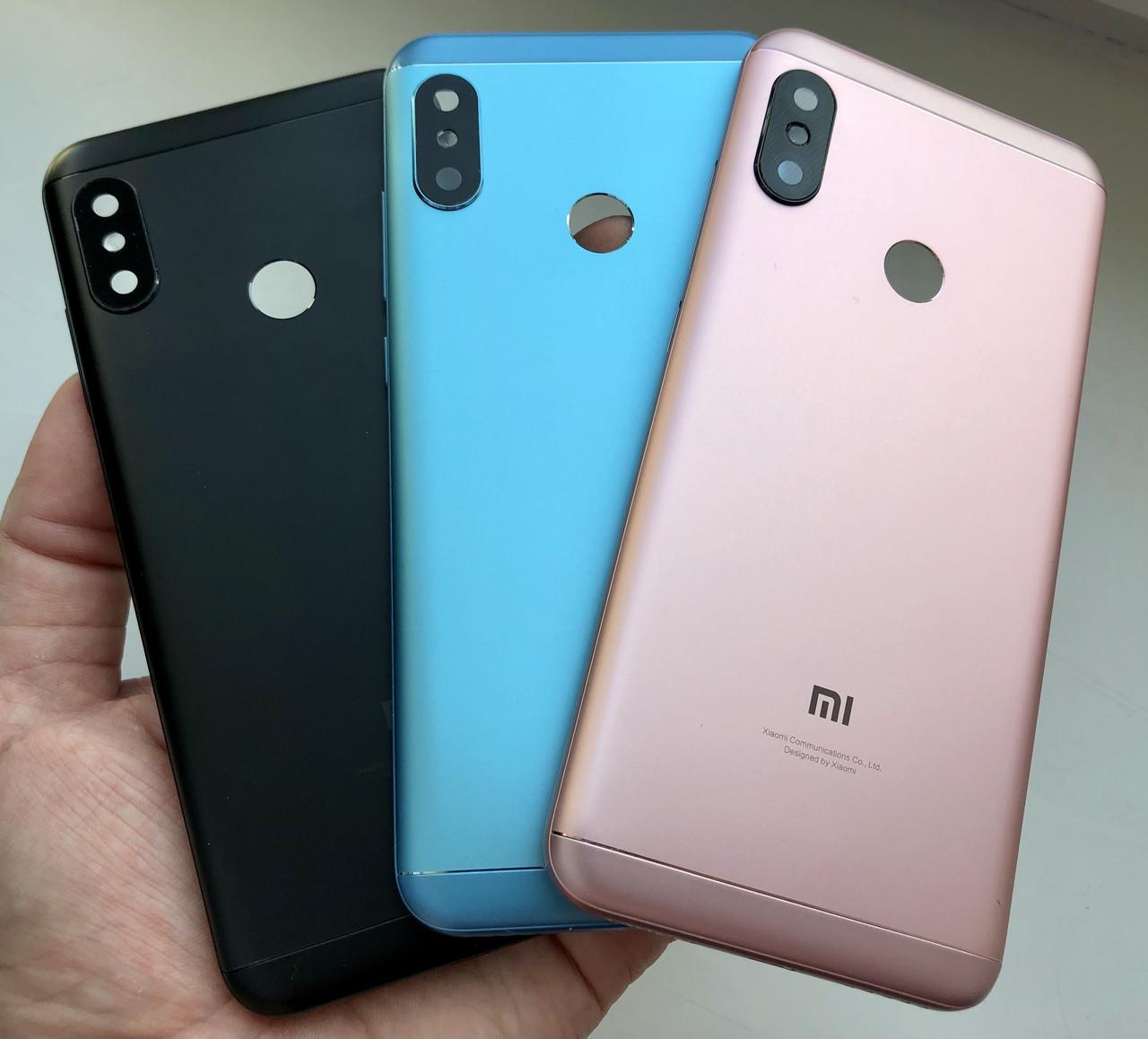 Задняя крышка для Xiaomi Mi A2 Lite золотой