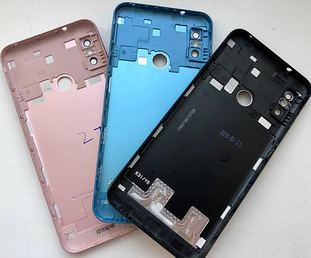 Задняя крышка для Xiaomi Mi A2 Lite золотой, фото 2