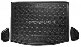 Резиновый коврик багажника Suzuki SX4 2013- (верхняя полка) Avto-Gumm