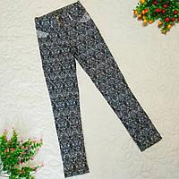 Брюки-джинсы для девочки осень-весна р.122-164 подростковые