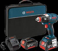 Аккумуляторный ударный гайковерт Bosch IDH182-02