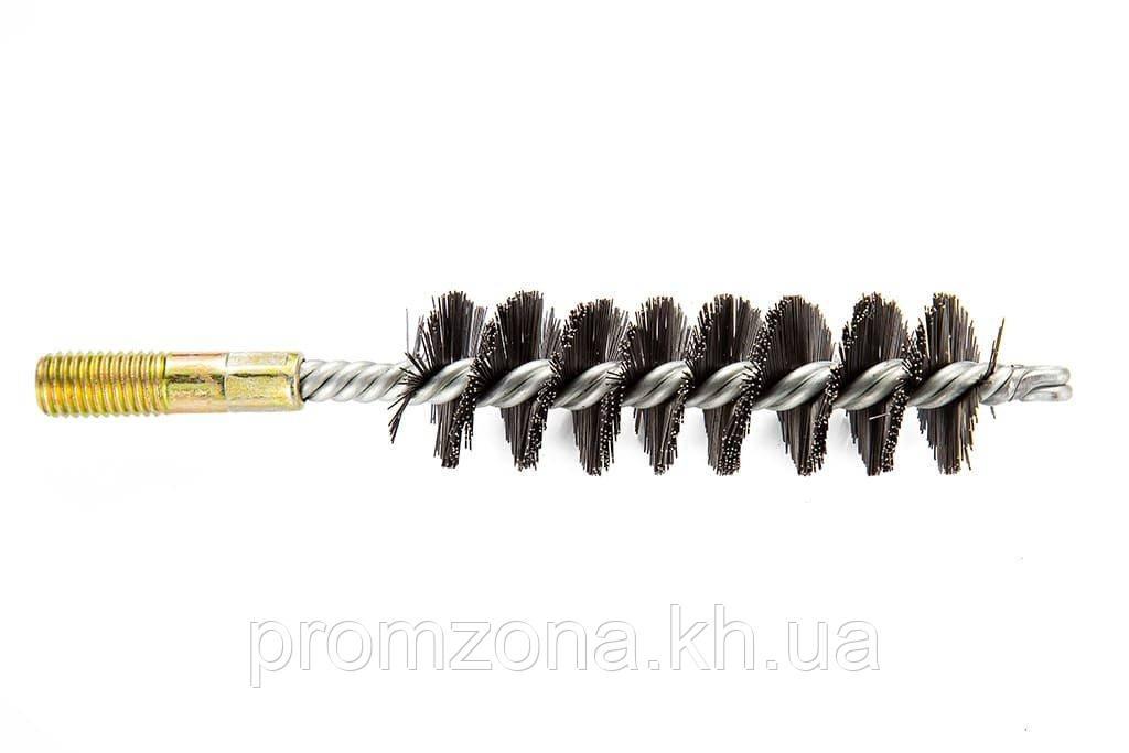 Щетка (ерш) металлическая для чистки теплообменника котлов, труб Savent 30 мм