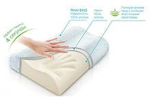 Ортопедична анатомічна подушка з пам'яттю Memory pill (меморі пілл), фото 3