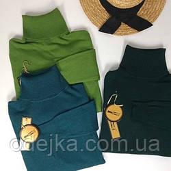 Модний жіночий гольф, водолазка, светр під горло, м'який гольфик Milano. Різні кольори.