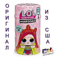 Кукла ЛОЛ с волосами 5 Серия 2 Волна Оригинал MGA L.O.L. Surprise Hairgoals Makeover Series 5 Real Hair 557067