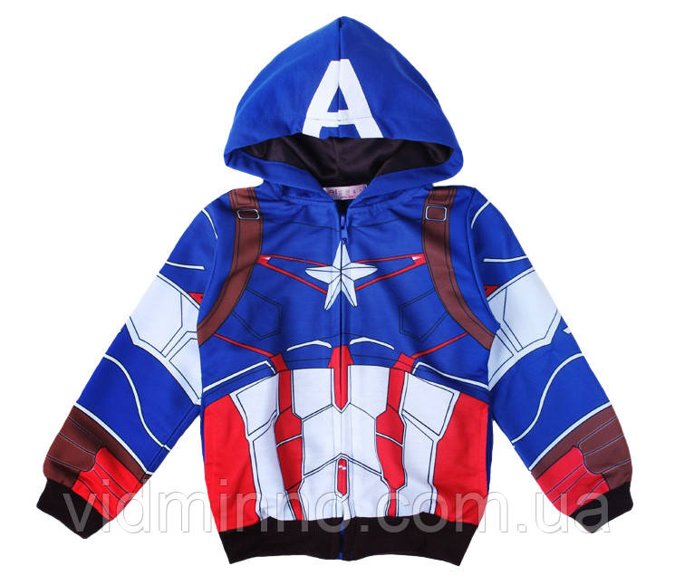 Дитяча кофта Капітан Америка р.100