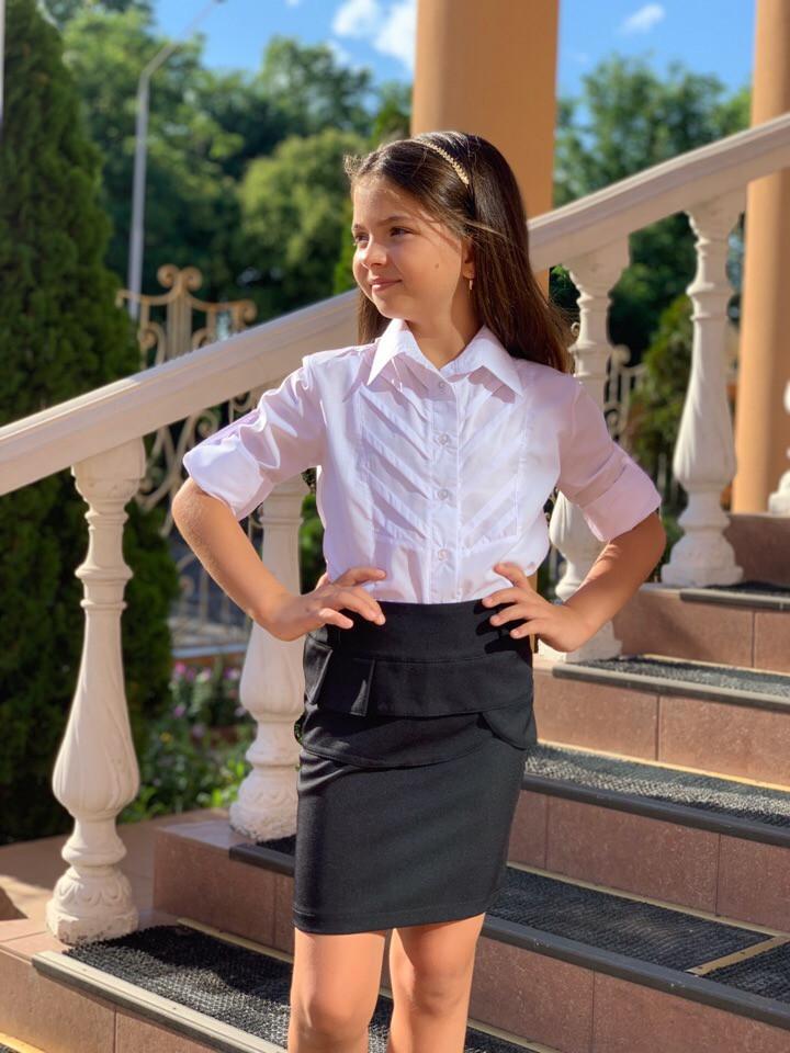 Детская юбка для девочек 122-140 см