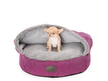 Лежак с капюшоном Cover Berry S(50 cm диаметр), фото 1