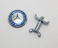 Эмблема заглушка значка капота Mercedes, фото 1