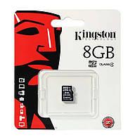 Карта памяти microSDHC Kingston 8 GB class 4 (No adapter)