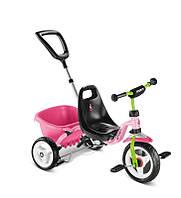 410 Трехколесный велосипед Puky CAT 1 S (2215, розовый/киви(pink/kiwi))
