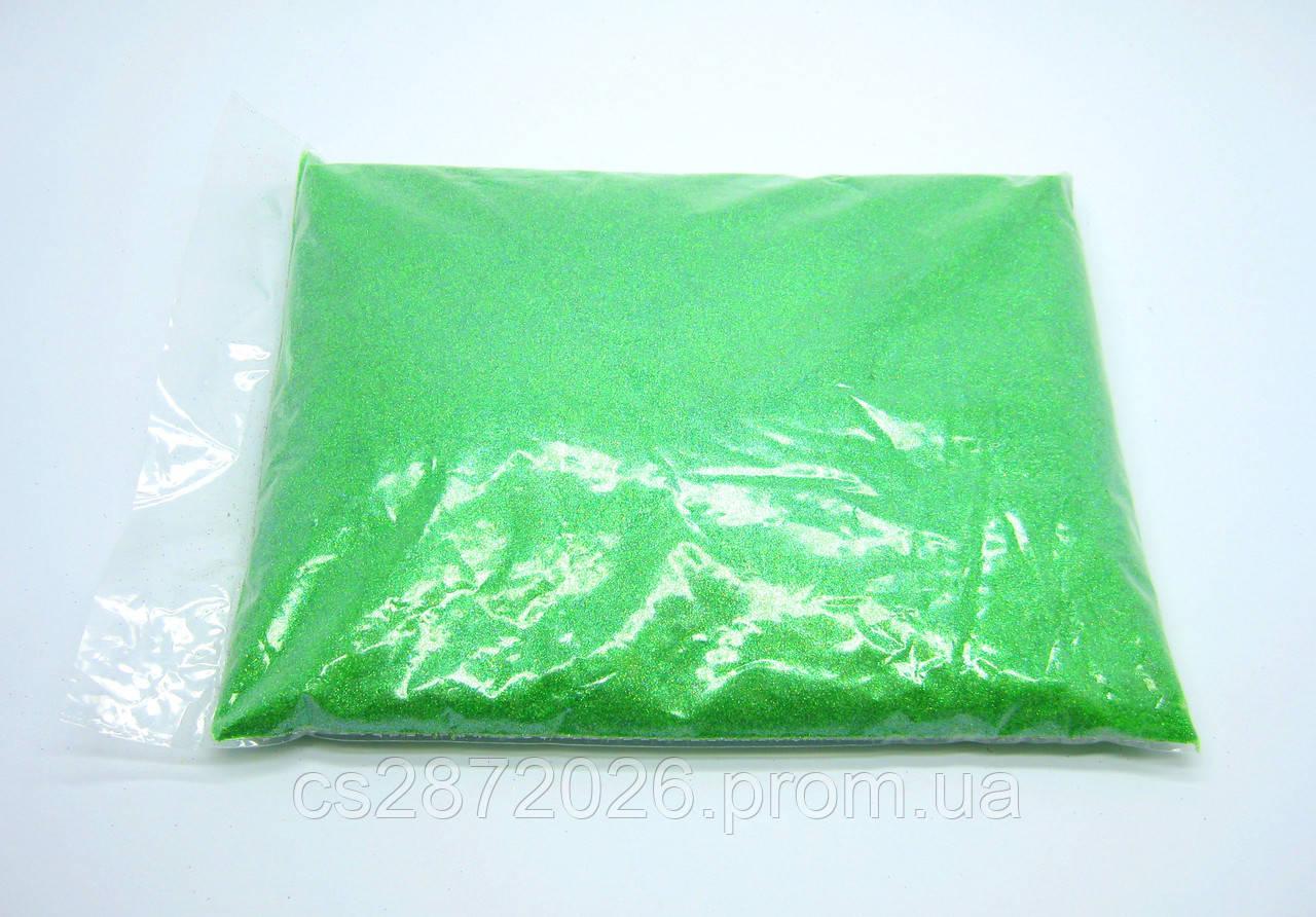 Глиттер, зеленый, 1 кг.
