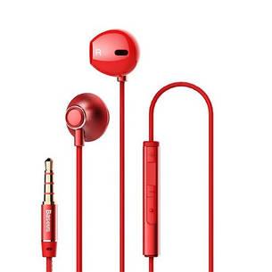 Навушники Baseus | Encok H06 lateral in-ear Червоний (NGH06-09), фото 2