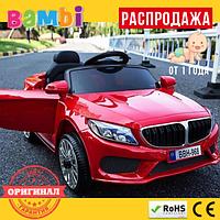 Детский Электромобиль BMW M3987 EVA (от 1 года) Красный
