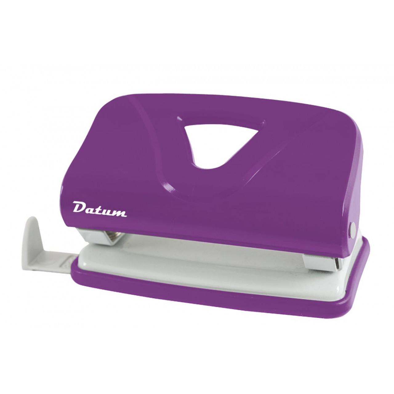 Дырокол 10л пласт. D1219-12 фиолетовый