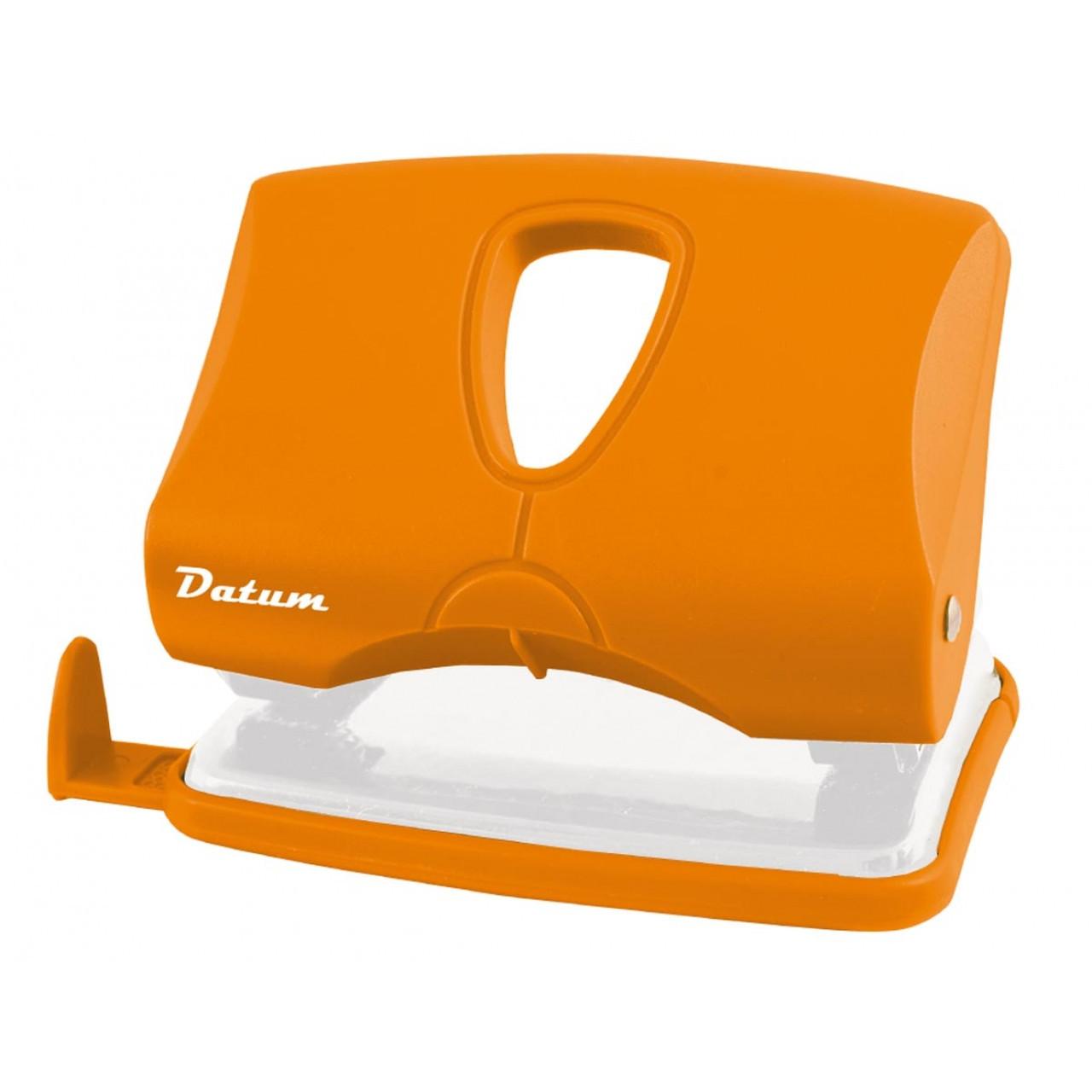 Дырокол 20л пласт. D1218-11 оранжевый