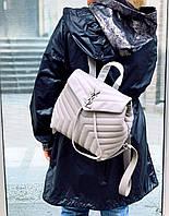 Крутой женский рюкзак Saint Lourent  LUX (реплика), фото 1