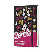 Блокнот Moleskine Limited Barbie Карманный (9х14 см) 192 страницы Нелинованный (8058341716762), фото 1