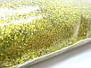 Гліттер, золотистий, 1 кг., фото 2