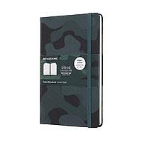 Блокнот Moleskine Limited Blend Средний (13х21 см) 240 страниц в Линейку Зеленый Канва (8058341717325), фото 1