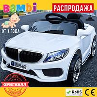 Детский Электромобиль BMW M3987 EVA (от 1 года) Белый
