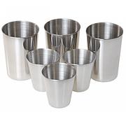 GI221 Набор стаканов из нержавеющей стали