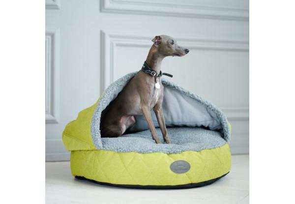 Лежак с капюшоном Cover Lime L(85 cm диаметр), фото 1