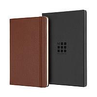 Блокнот Moleskine Limited Leather Средний (13х21 см) 240 страниц в Линейку Коричневый + бокс (8058647620701), фото 1