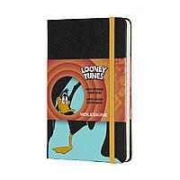 Блокнот Moleskine Limited Looney Tunes Карманный (9х14 см) 192 страницы в Линейку Даффи Дак (8058647621081), фото 1