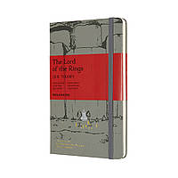 Блокнот Moleskine Limited Lord of the Rings Средний (13х21 см) 240 страниц в Линейку Серый (8053853600158), фото 1