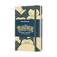 Блокнот Moleskine Limited Pokemon Карманный (9х14 см) 192 страницы в Линейку Снорлакс (8058341716823), фото 1