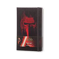 Блокнот Moleskine Limited Star Wars VII Средний (13х21 см) 240 страниц в Линейку Черный (8051272892550), фото 1