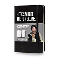 Блокнот Moleskine Limited Star Wars Карманный (9х14 см) 192 страницы в Линейку Черный (9788867325245), фото 1