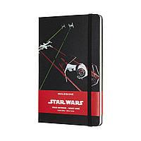 Блокнот Moleskine Limited Star Wars Средний (13х21 см) 240 страниц в Линейку Корабли (8058341713471), фото 1