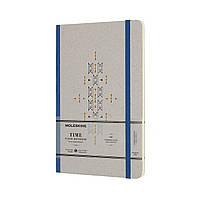 Блокнот Moleskine Limited Time Средний (13х21 см) 240 страниц Нелинованный Синий (8058341710784), фото 1