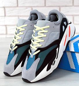 Женские кроссовки Adidas Yeezy Wave Runner Boost 700 Grey (Адидас Изи Буст)